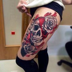 Trash Polka Tattoo : Photo