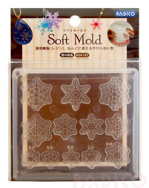 Padico mold/snowflakes mold/Padico snow flakes mold/Padico soft mold/Padico new soft mold/Padico snowflakes mold/Padico flexible mold by claydoughandme on Etsy