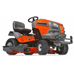 Husqvarna YT46LS:We developed our LS series yard tractors with the discriminating landowner in mind. Engineered for added durability, comfort, style and precision, our LS series yard tractors all feature fabricated or reinforced decks and a heavy-duty chassis. The efficient, integrated washout port and optional mulch kit make these models ideal for demanding and extensive use. Then the available locking rear differential increases traction while cutting wet grass or on slopes.