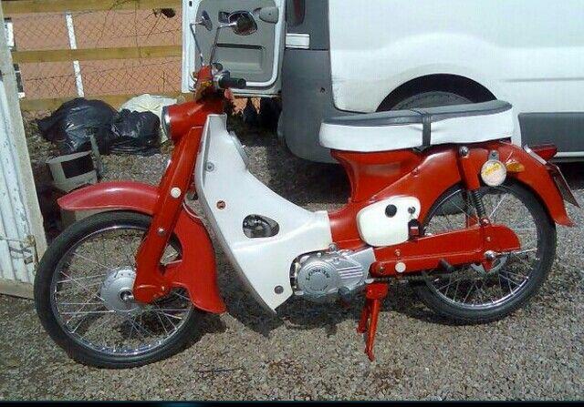 C50 Honda super cub 1964