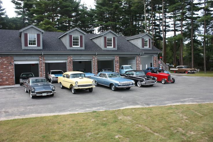1000 Images About Collector Car Garages On Pinterest