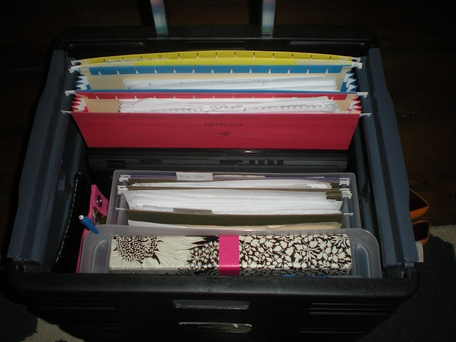 How to organize a cart for a traveling teacher- has a good system for a teacher with a classroom as well- just recreate on desk