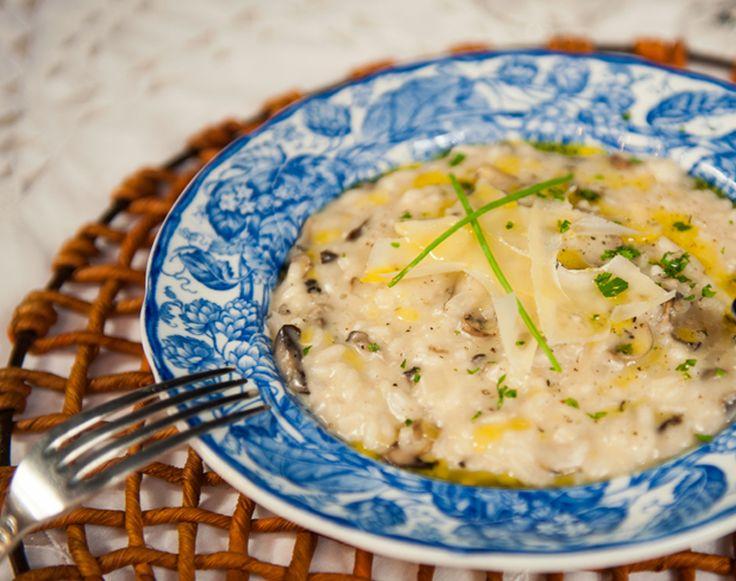 Risoto de cogumelos assados - O Chef e a Chata