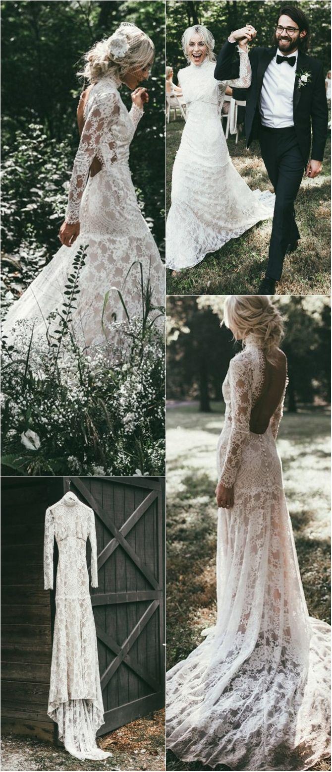 Dream White Lace Mermaid Wedding Dresses Vintage Long Sleeves Spring Wedding Dresses For Bride Lace Beach Wedding Dress Wedding Dresses Spring Wedding Dress [ 1557 x 670 Pixel ]