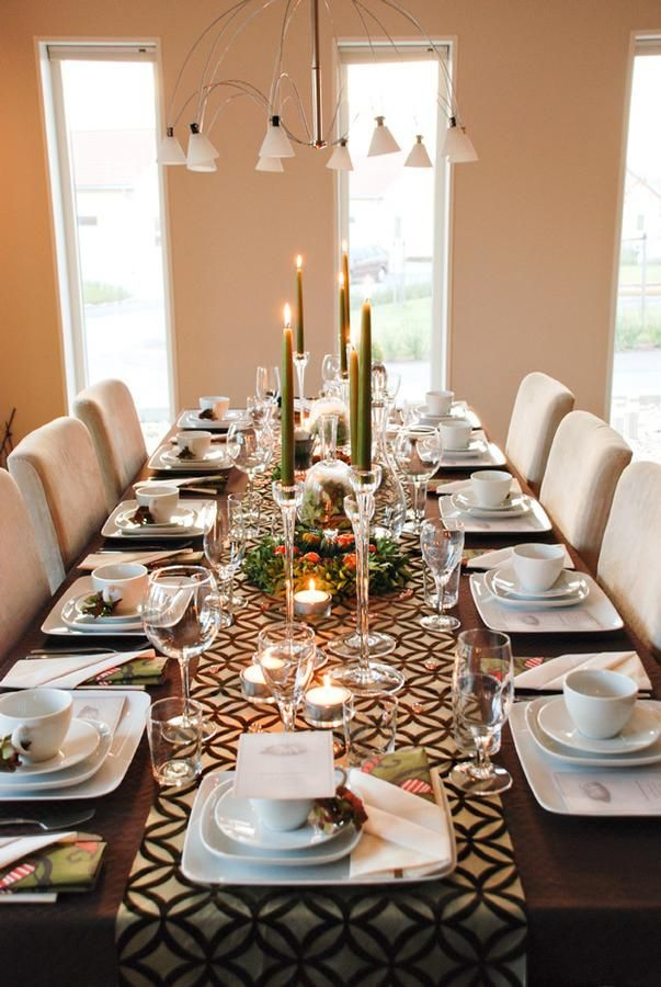 White Dining Table Centerpiece Ideas