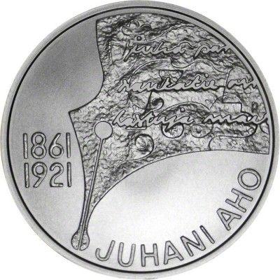 10 Euro Silber 150. Geburtstag von Juhani Aho UN