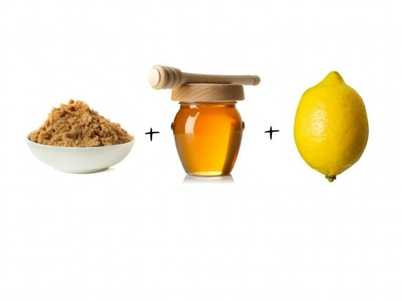 1.brown sugar 2.honey 3.lemon juice A. Mix all 3 ingredients together and use this scrub once a week *oh and keep scrub in the fridge * only lasts 2 weeks without glycerin