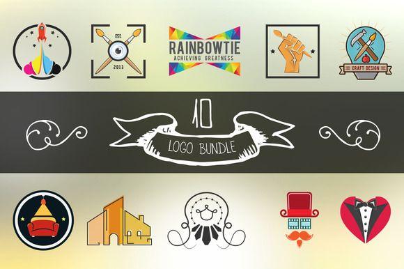 Check out Vintage & Design Logo Bundle by DIGITAVERN on Creative Market