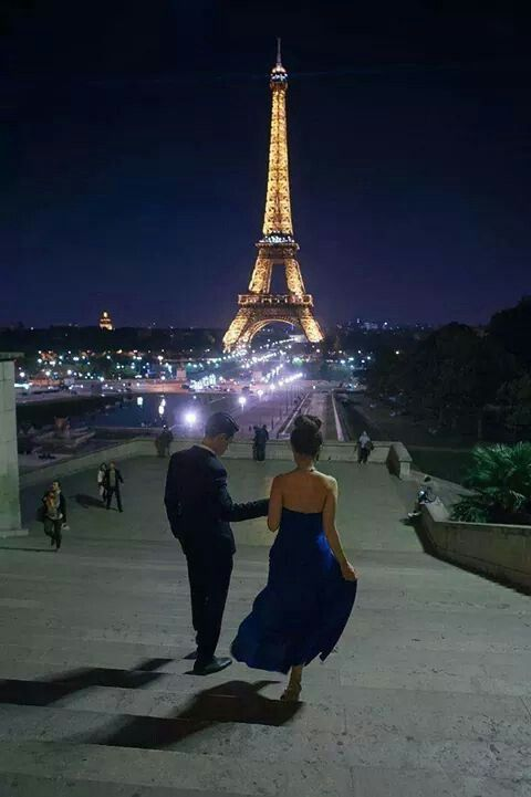 One day maybe together we'll be traveling to Paris, in te city of love with the love in our hearts