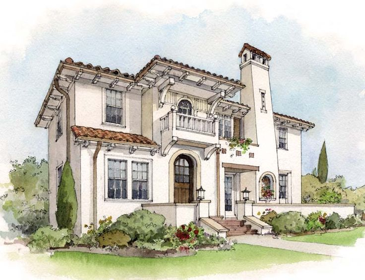 Best 25 suburban house ideas on pinterest sims 3 houses for Spanish mediterranean architecture
