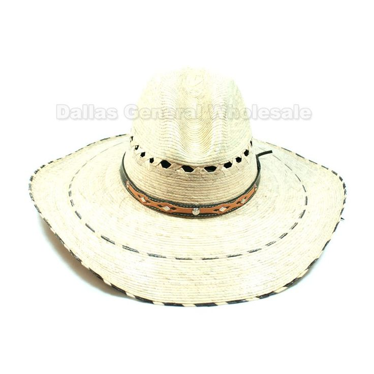 Straw Sombrero Cowboy Hats Wholesale  $7.50