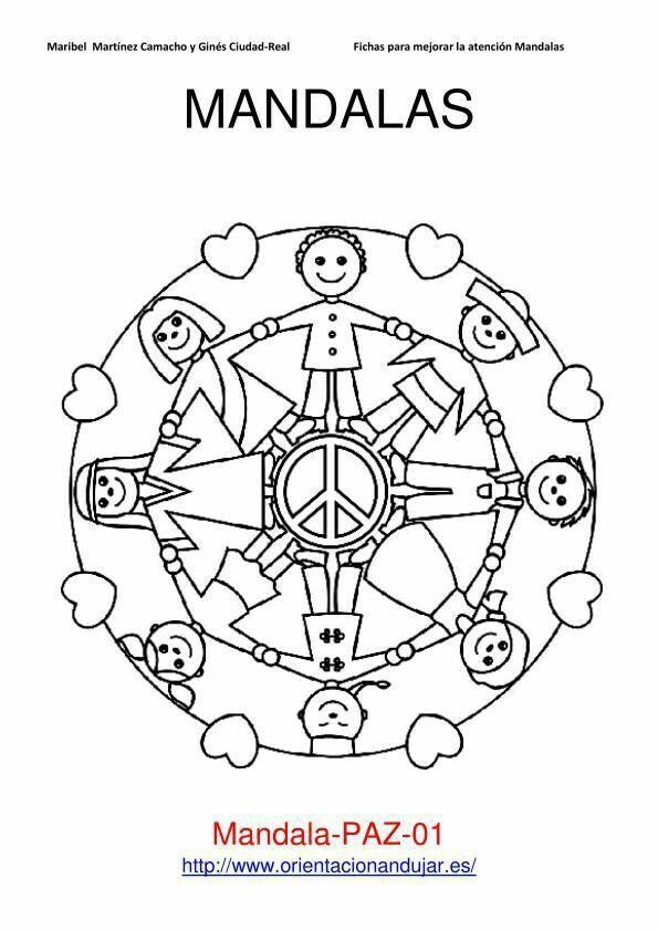 76 best Mandalas images on Pinterest Adult coloring Drawings