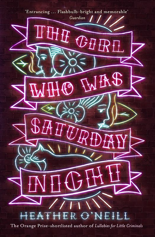 The Girl Who Was Saturday Night cover design by Leo Nickolls for FSG