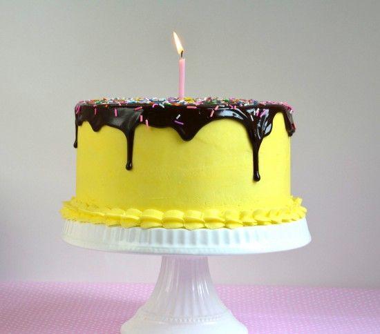 Banana Chocolate Caramel Cream Cheese Layer Cake with ...