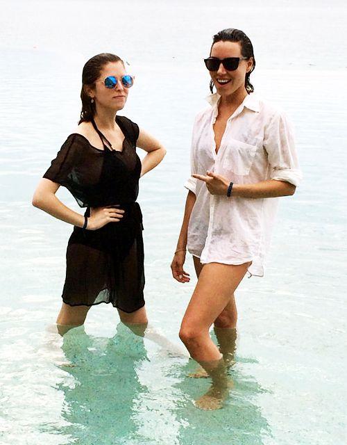 Anna Kendrick & Aubrey Plaza