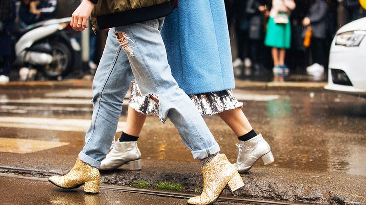 15 Pairs of Chic #Socks to Wear With #Boots ThisWinter | StyleCaster