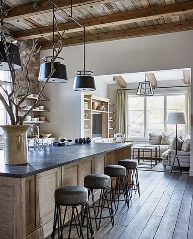 Wood ceiling, island                                                                                                                                                                                 More