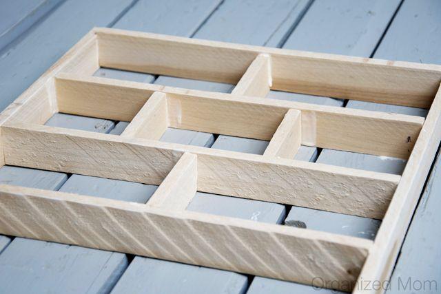 Easy and affordable diy drawer organizer wood glue