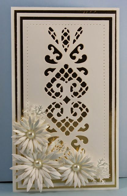 MagPie's Corner: A Wedding Card.....Striplet Lattice Heart