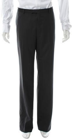 Gucci Wool Flat Front Pants