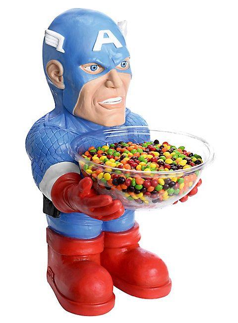 Captain America Süßigkeiten-Halter ★ online bestellen ★ maskworld.com