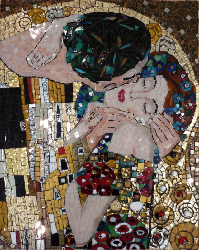 "Interpretation of ""The Kiss"" by Klimt"