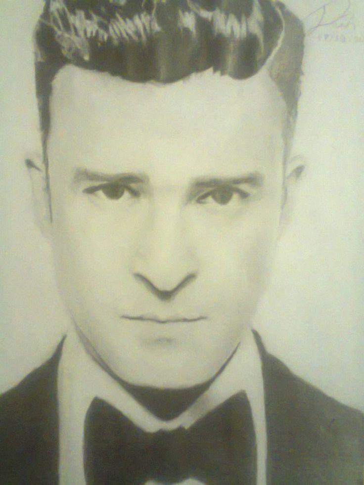 Desenho / Drawing Justin Timberlake 2013
