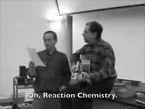 Reaction Chemistry song, high school (Hey Little Ions)