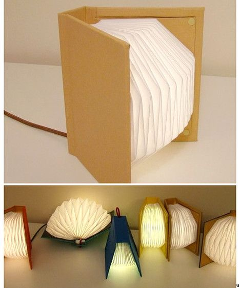 Book Table Lights -cute, different