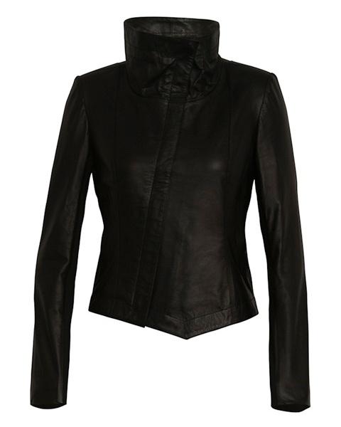 Jacket - White Suede - Leather Tumble  $460