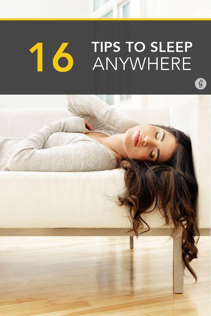 16 Ways to Sleep Absolutely Anywhere #sleep #health