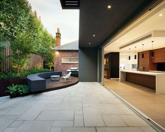 Contemporary Concrete Patio Designs