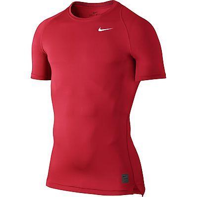 Prezzi e Sconti: #T-shirt uomo rosso nike pro 703094 657  ad Euro 24.00 in #Abbigliamento #Moda