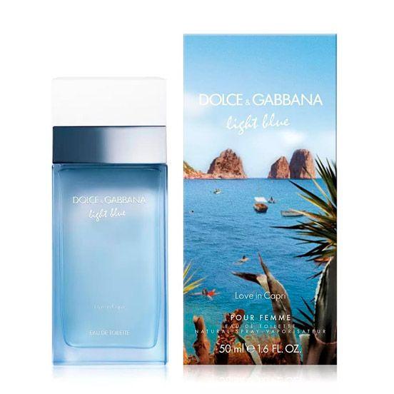 Купить Dolce and Gabbana Light Blue Love in Capri за 2015 руб #DolceGabbana #духи #парфюм #парфюмерия Лазурный берег, прохладная волна и нежное солнце. Невозможно не влюбиться в эту расслабленную атмосферу. Туалетная вода Dolce & Gabbana Light Blue Love in Capri (Дольче Габбана Лайт Блю Лав ин Капри) – вер