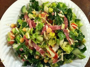 Classic Chopped Salad from La Scala Beverly Hills....get the recipe here and then prepare to be delighted!