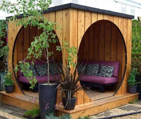 #altanok #exterior #homeideas #design #garden #terasse #zahrada #domov