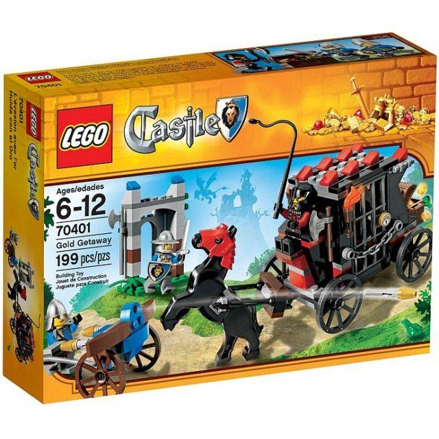Đồ chơi LEGO 70401 Gold Getaway – Bảo vệ rương báu