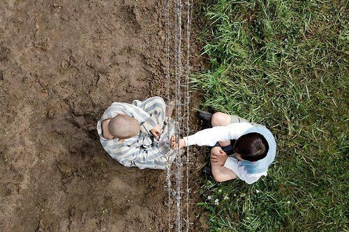 "The boy in the striped pajamas ""Your my best friend, my best friend for life"" - Bruno and Shmuel"