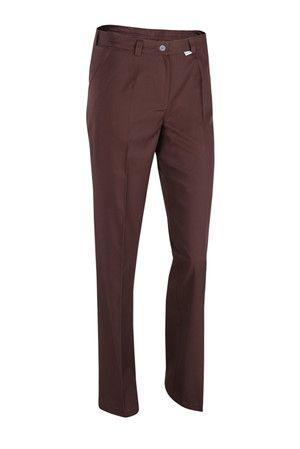 Brązowe spodnie kosmetyczne