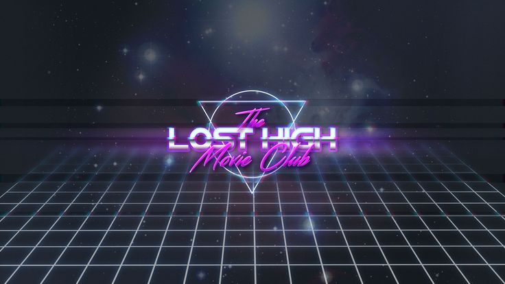 Our 80s retro logo for The Lost High Movie Club https://www.youtube.com/watch?v=hlmSK7Yc1Jc