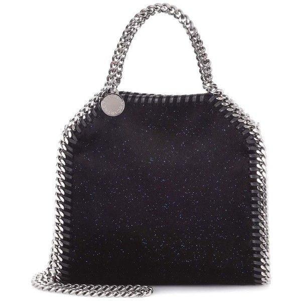 Stella McCartney Falabella Tiny Shoulder Bag ($770) ❤ liked on Polyvore featuring bags, handbags, shoulder bags, blue, stella mccartney, stella mccartney purse, shoulder bag purse, blue handbags and shoulder hand bags