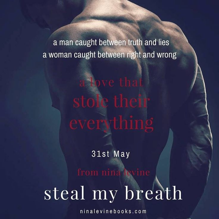 COMING ON THE 31st MAY My new sexy standalone - Steal My Breath BLURB: I let him steal my breath and I want to give him my heart too. But it's complicated. Internet dating and Callie St James do not go together. 25. Desperate for sex. Earns shit money waitressing while desperately trying to get a publishing deal. Only does yoga to keep core muscles strong—trust me, guys thank me. Reads too much because gets no sex. Did I mention desperate for sex? She's about to give up on love when the guy…