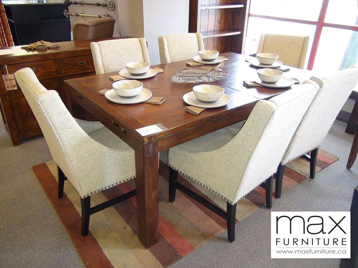 Post rail dining table with extension cad