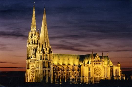 Chartres Cathedral, Chartres, France  This is my favorite building on earth!