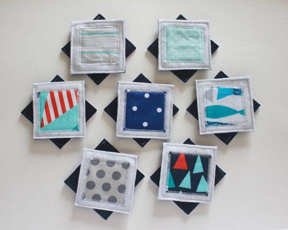 Fabric memory game Montessori inspired sensory toy by CUTIFULbaby