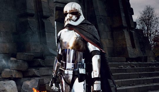 "Gwendoline Christie has been discussing her upcoming villainous role in 'Star Wars: The Force Awakens' describing her character as ""very progressive"". The 'Game of Thrones' star plays Captain Phasma, the instantly-iconic chrome-plated Stormtrooper leader. ""We see Captain Phasma, and we see the costume from head to toe, and we know that it is a woman."