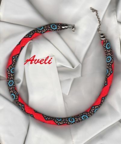 16 Perlen in der Runde, Pattern in dbb unter Aveli gespeichert