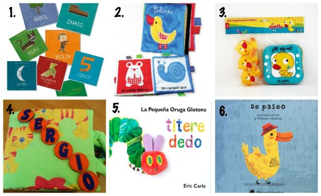 seleccion libros infantiles para bebés de 0 a 2 años edad