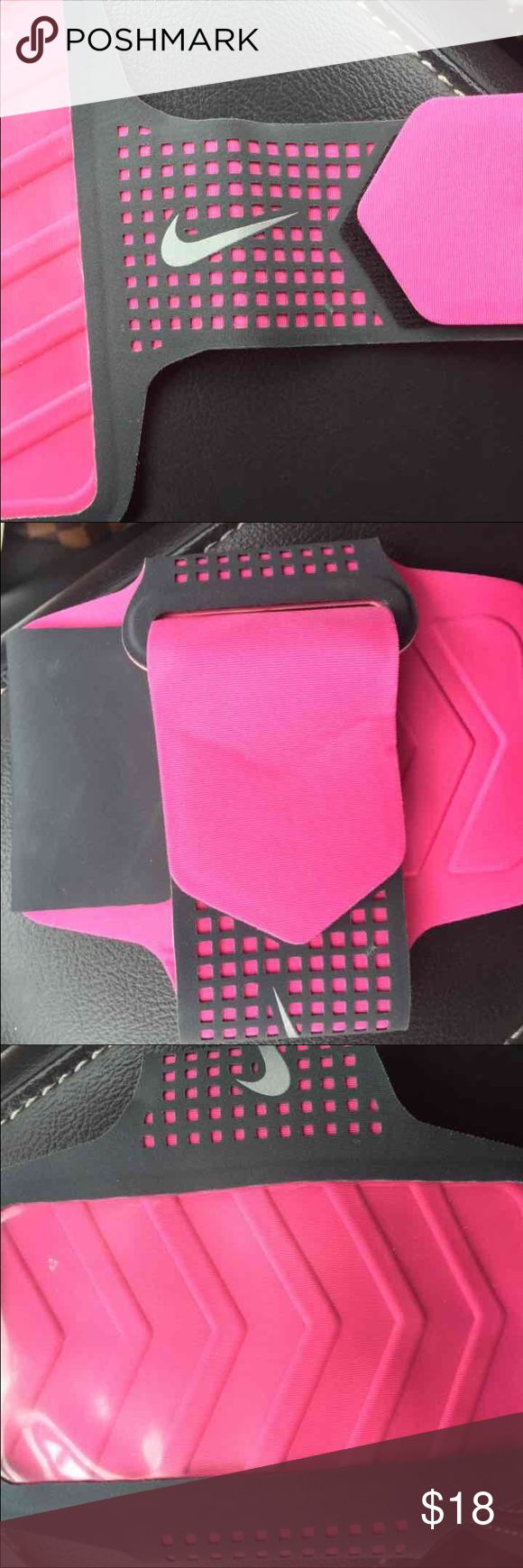 Nike iPhone 6/6+ workout exercise armband Pink//perfect condition Nike Accessories Phone Cases