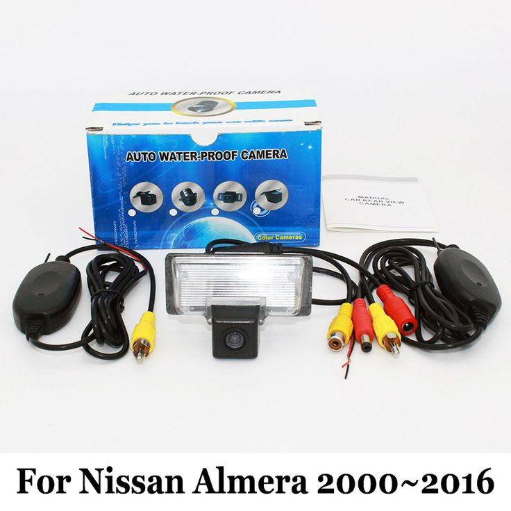 Car Rear View Camera For Nissan Almera 2000~2016 / RCA AUX Wire Or Wireless / HD Wide Lens Angle CCD Night Vision Backup Camera